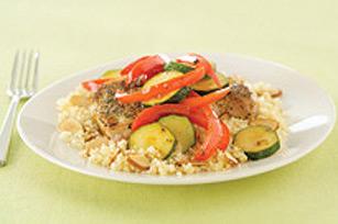 Côtelettes de porc avec légumes glacés Image 1