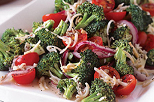 Marinated Broccoli Tomato Salad Image 1