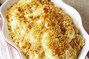 Purée de pommes de terre au gratin