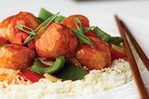 Boulettes de poulet sauce aigre-douce Image 1
