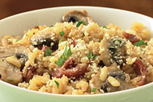 Sun-Dried Tomato & Bacon Risotto