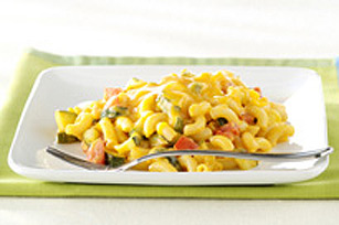 Double-Cheese and Veggie Macaroni