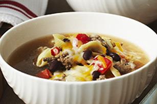 Soupe minestrone tex-mex