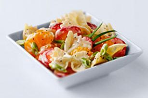 Salade de pâtes aux fraises et à l'orange