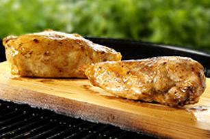 Cedar-Planked Honey-Spiced Chicken