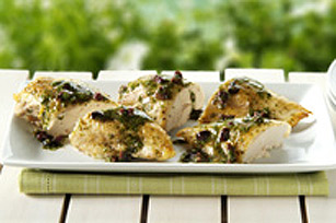 Cedar-Planked Mediterranean Chicken