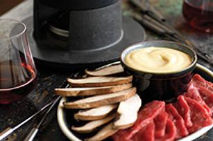 Beef Fondue (Fondue Chinoise)