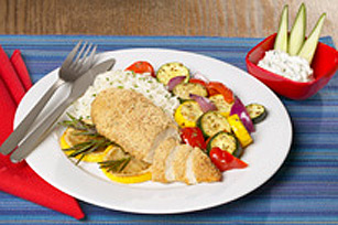 Greek-Style Chicken Dinner Image 1