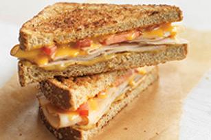 Sandwich grillé au fromage campagnard Image 1