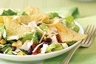 Simple Layered Fiesta Salad