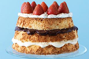 Gâteau étagé à la napolitaine
