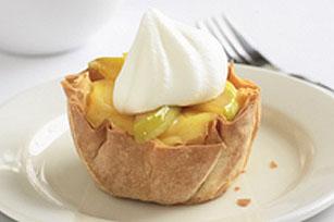 Vanilla-Apple Phyllo Crisps