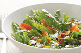 Parmesan-Bacon Spinach Salad