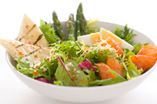 Salade niçoise au saumon fumé