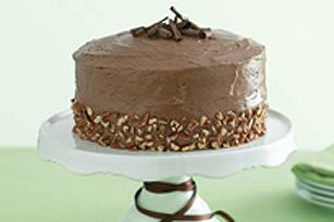 Gâteau divin au chocolat et aux bananes