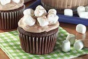 Petits gâteaux chocolat chaud et guimauves Image 1