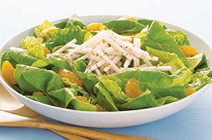 Salade aux mandarines et à la vinaigrette aux framboises Image 1