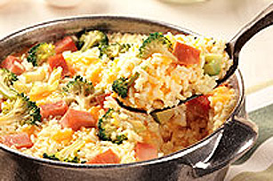 One Dish Rice Bakes