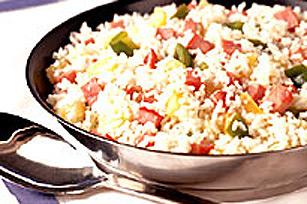 Repas de riz dans une seule poêle Image 1