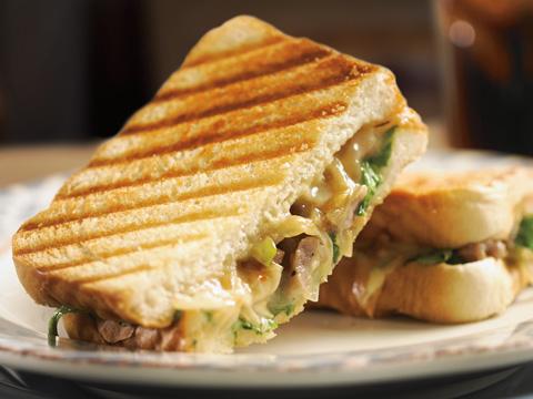 Sandwich au fromage fondant Habanero et au chorizo