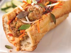 Sandwich thaï au poulet Banh Mi