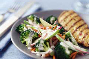 Super Broccoli Side Salad