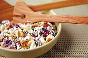 Pasta Salad with Blue Cheese & Walnuts