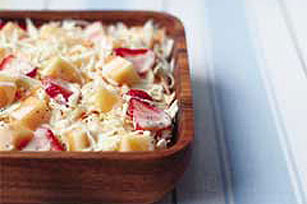 Sweet & Savory Strawberry Coleslaw Image 1