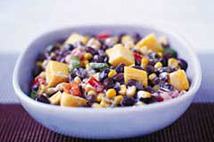 Mango-Salsa Black Bean Salad Recipe Image 1