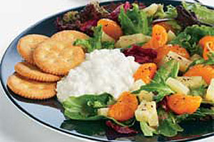 Creamy Hawaiian Green Salad for One Image 1