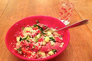 Summer Smoked Ham and Quinoa Salad Image 1