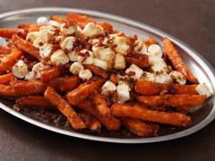 """Sweet Potato Fries """"Poutine"""""""