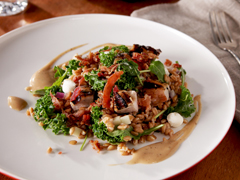 Tuscan Salad with Farro and Kale
