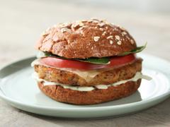 BOCA Essentials Roasted Vegetable & Red Quinoa Mediterranean Burgers
