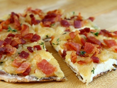 Vidalia Onion & Bacon Flatbread