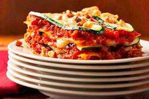 Zucchini Walnut Lasagna Image 1