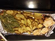 one-pan-chicken-potatoes-snap-peas-208095 Image 1