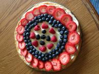 Fourth of July Fruit Pizza Image 2