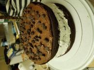 Chocolate-Covered OREO Cookie Cake Image 2