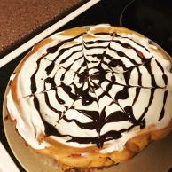Spider Web Drizzle Pumpkin Cheesecake Image 2
