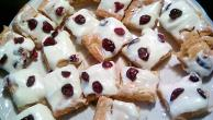 Cranberry Blondie Bars with Cream Cheese Frosting Image 2