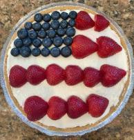 American Berry No-Bake Cheesecake Recipe Image 2