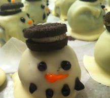 OREO Snowman Cookie Balls Image 2