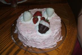 Sweet Strawberry Cake Image 2