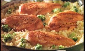 15 Minute Chicken & Rice Florentine Image 2