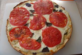 Easy Tomato-Basil Pizza Image 2