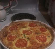 Canadian Bacon Quiche Image 2