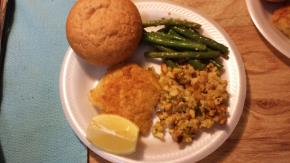Easy Parmesan-Crusted Fish Dinner Image 2
