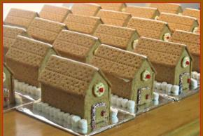 Gingerbread Holiday House Image 2