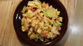 Harvest Bacon and Chicken Dinner Salad with Tangy Fruit Dressing Image 2